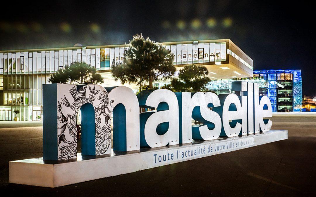 La Ville de Marseille nous confie les Réseaux Sociaux sur 3 ans